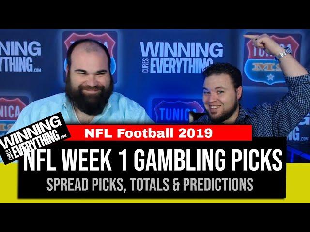 WCE: 2019 NFL Week 1 Gambling Picks (Against the Spread)