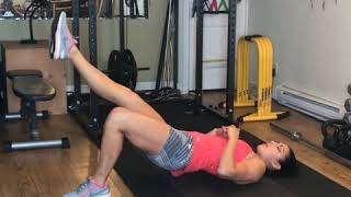 Glute bridge circles