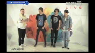 """MBAND в прямом эфире """"Вконтакте Live"""" на Russian Musicbox! Эфир от 23.06.17"""