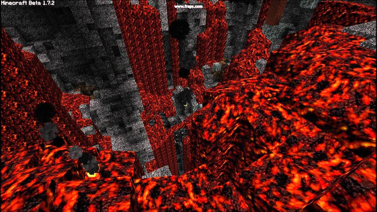 Minecraft Custom Lava Animation Youtube