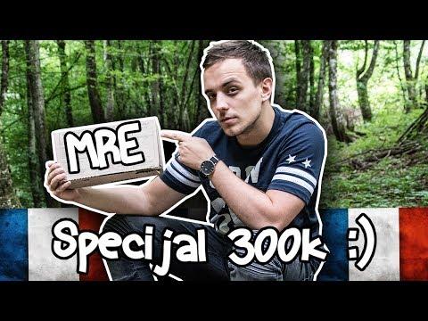 TESTIRAM HRANU FRANCUSKE VOJSKE! - FRENCH MRE (300k Specijal)