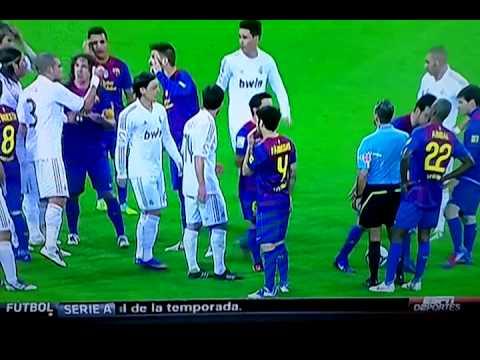 Barcelona vs real madrid 01.18.2012