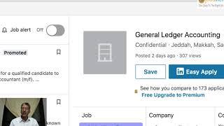 البحث عن وظيفة   البحث عن عمل عبر لينكدإن و إنديد   لايف عبر الفيس بوك screenshot 4