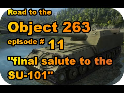 SU-101 gameplay RTC ep#11 (Tier VIII Soviet TD/World of Tanks Xbox)