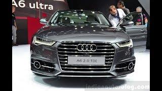 Paris Live – Audi A6 facelift (India-bound)