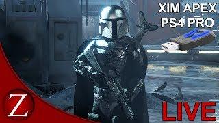 The New Rise of Skywalker Update - Star Wars Battlefront II PS4 Xim Apex Gameplay