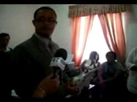 Procurador Geral da Republica de Sao Tome e Principe, quando os Activistas Visitavam a sua Casa, isto a Procuradoria da Repuclica