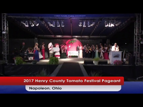 From TV26 - 2017 Henry County Tomato Festival Pageant