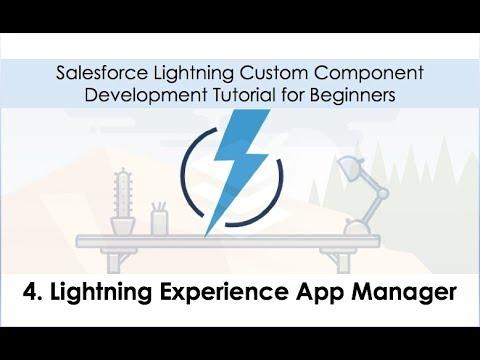 salesforce application development tutorials