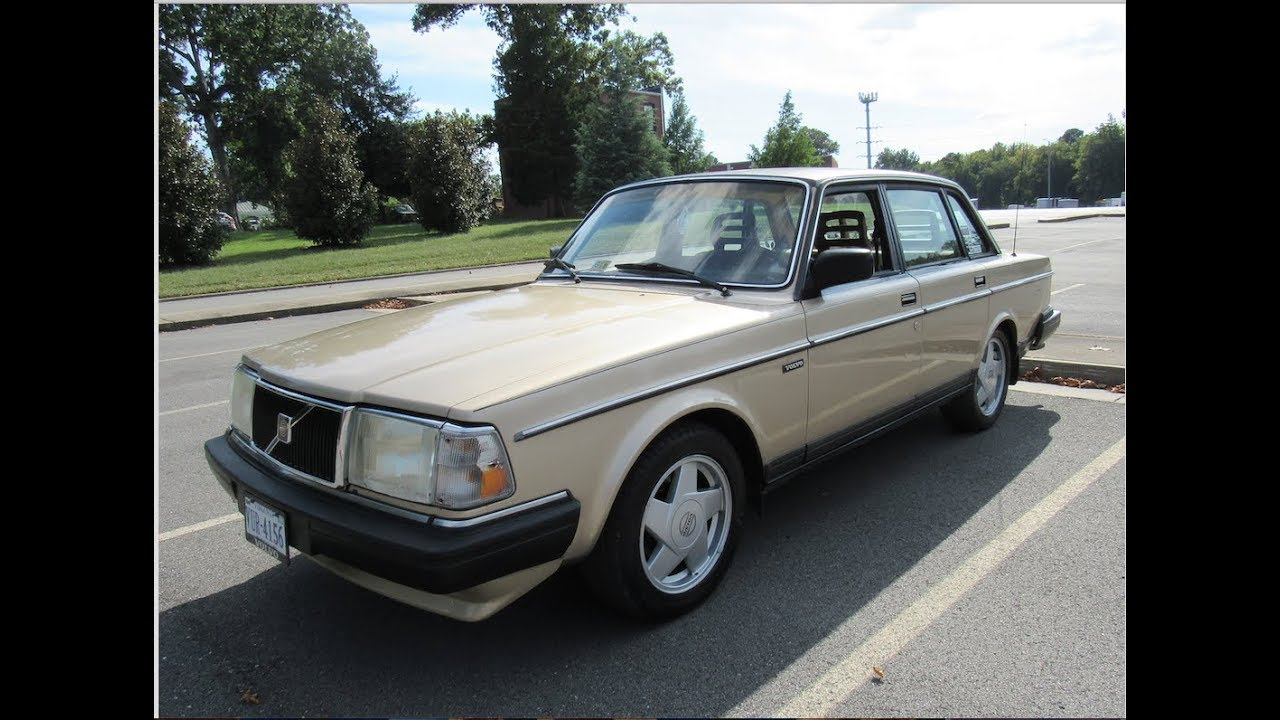 1990 Volvo 240 DL 6 Month Updates and Test Drive - YouTube