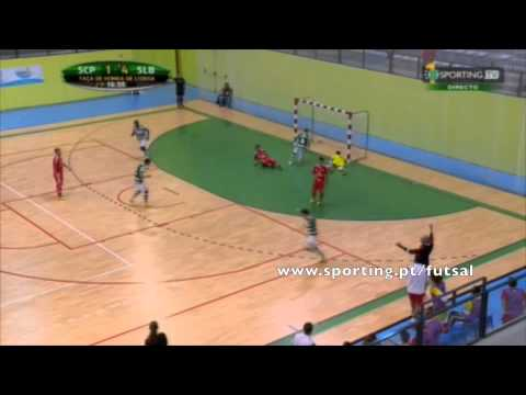 Futsal :: Sporting - 4 x Benfica - 4 (7-6 apos gp) de 2015/2016 1/2 Final Taça Honra AFL