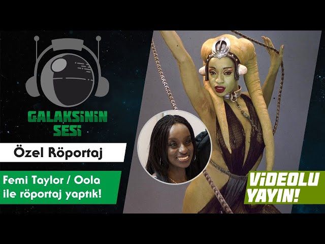 Jabba'nın Twi'lek dansçısı ile röportaj yaptık!