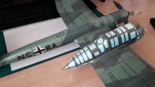 Моделі літаків з паперу Blohm & Voss BV 141 B