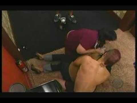 Big Brother 9: Amanda & Allison having a seizure