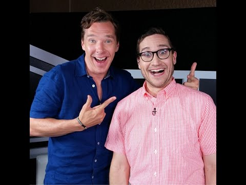 Benedict Cumberbatchs first ever Comic-Con Interview with Josh Horowitz (RUS SUB))