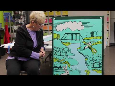 Artist Gail Holliday Celebrates 50 Years of Columbia