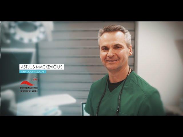 Dantų protezavimas - Astijus Mackevičius | Mackevičių šeimos Odontologijos klinika