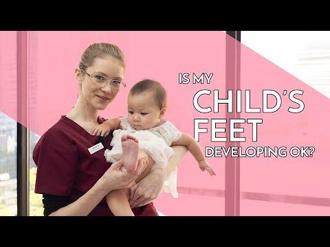Baby's Feet Development Georgina Tay, Singapore Podiatrist