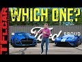 I Drive the Ford GT on Woodward to Compare it to the Mustang GT500 To See Which One I