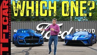 I Drive the Ford GT on Woodward to Compare it to the Mustang GT500 To See Which One I'd Buy!