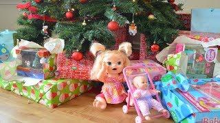 La Muñeca Baby Alive Sara recibe un regalo muy Especial de parte de Papá Noel!!! TotoyKids thumbnail