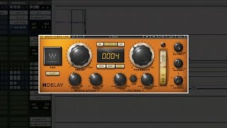Creating Never-ending Delay with the H-Delay Plugin