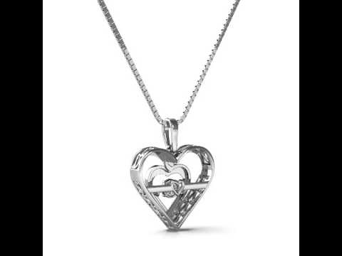 Rhythm of love diamond heart pendant youtube rhythm of love diamond heart pendant aloadofball Images