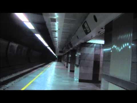 Train-express de Belgrade