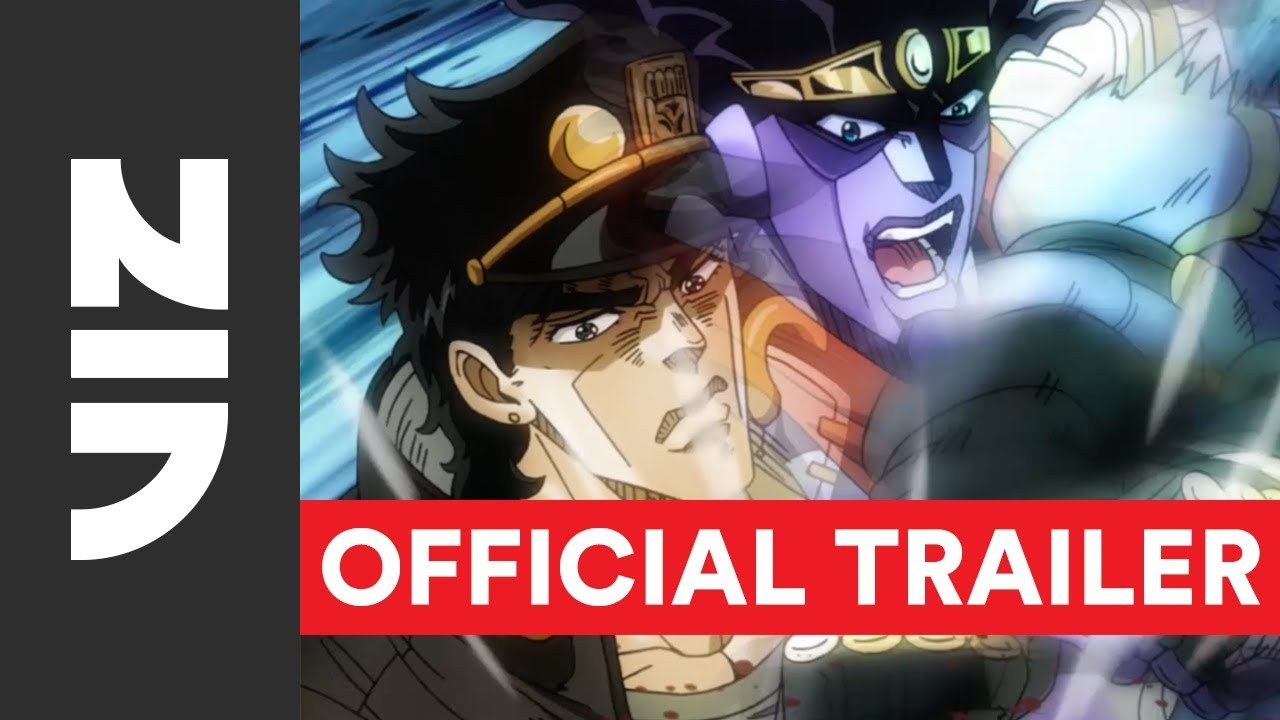 JoJo's Bizarre Adventure, Set 2: Stardust Crusaders - Official English  Trailer