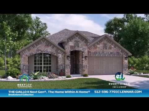 The Giallo II Next Gen®, The Home Within A Home, Brookstone II Home Tour - Lennar Austin