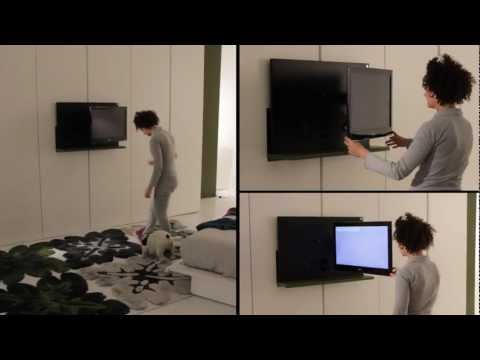 Mobili Porta Tv Design Ikea.Armadio Dream Con Porta Tv Ghost Estraibile Ed Orientabile