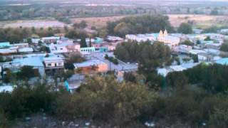 Un vistaso desde el cerro en Abasolo Rodeo Durango