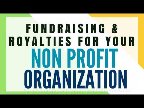 Fundraising Idea for Non Profit Organizations via Royalties