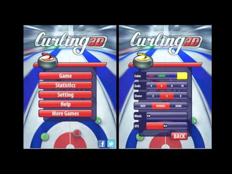 Curling3D game from MaxNick on iOS & Android & WP