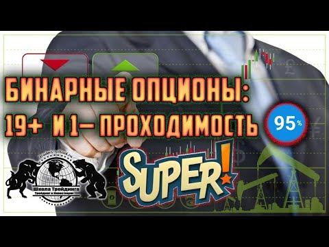 Бинарные Опционы: 19+ и 1- проходимость 95%, Супер!!!
