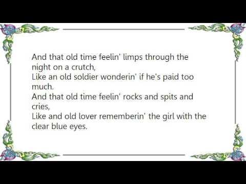 Guy Clark - That Old Time Feeling Lyrics