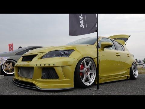 Ct200h F Sport >> (4K)LEXUS CT 200h F sport custom レクサス・カスタム - スーパーカーニバル2015 - YouTube