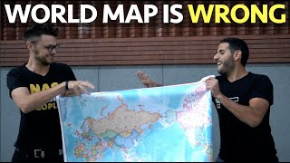 World Map is Wrong