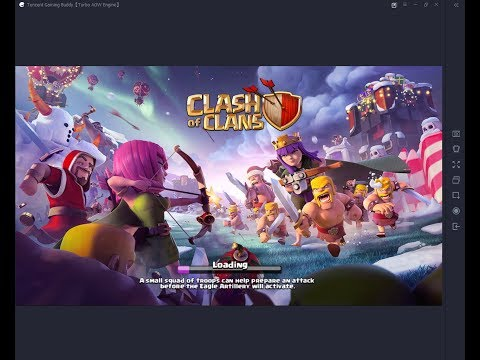 Clash Of Clans How To Zoom In And Out In Tencent Gaming Buddy...