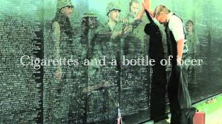 The Wall - Bruce Springsteen (with lyrics)