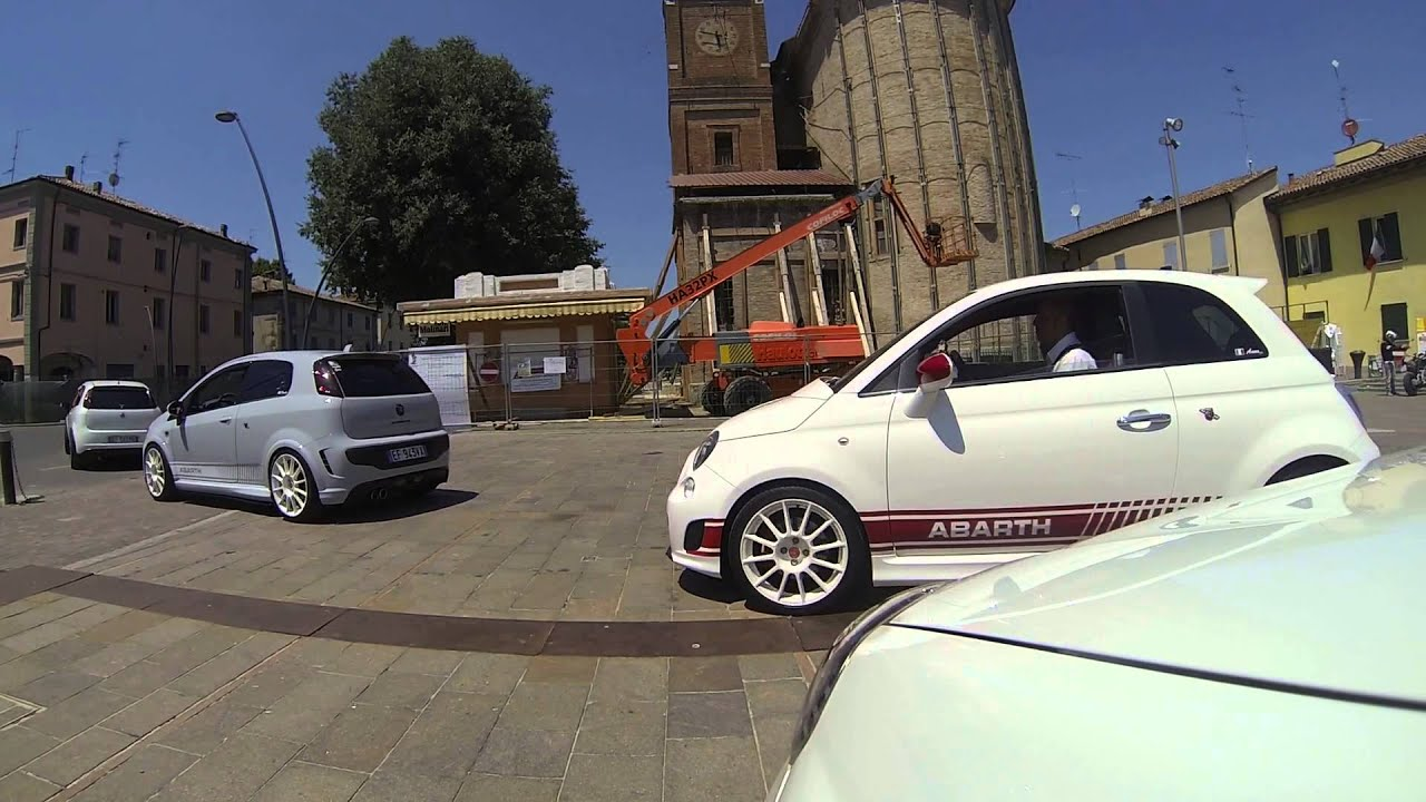 Raduno ABARTH CLUB ITALY (23/6/13) - YouTube