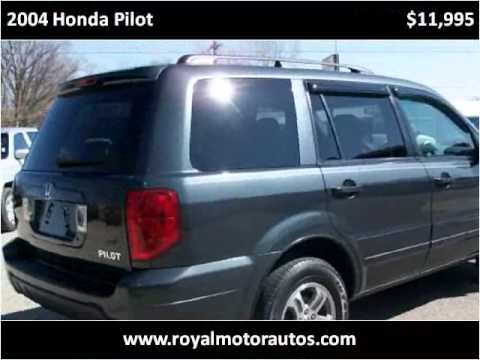 2004 Honda Pilot Used Cars Middlebury In Youtube