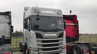 Waberer's Scania R450 2019