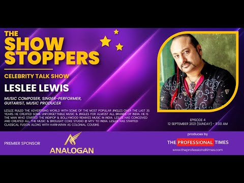Leslee Lewis  SingerPerformer  Music Composer  The Show Stoppers  The Professional Times