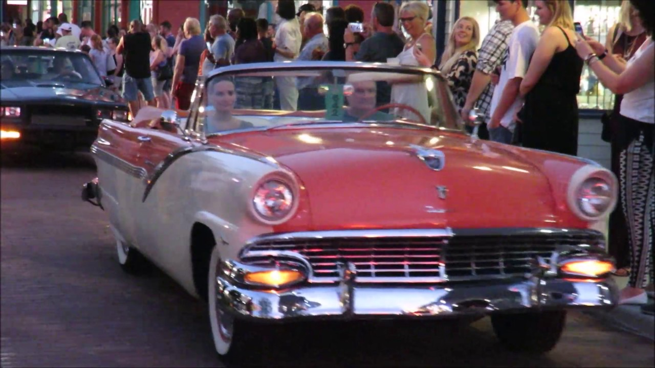 Friday Night Muscle Car Show Cruise Old Town Kissimmee Orlando - Kissimmee car show saturday