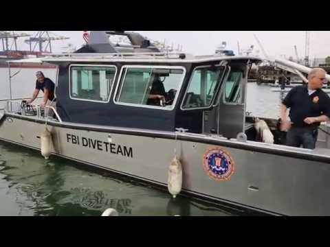 Los Angeles Port Police Maritime Chokepoint Operation