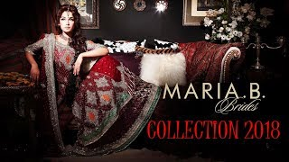 Maria B Latest Bridal Collection 2018
