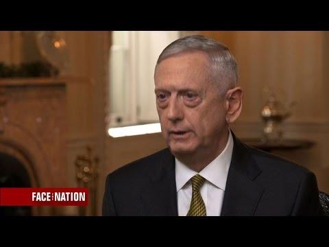Full Interview: Defense Secretary James Mattis, May 28