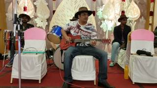 sj prasanna playing kannada song Neera bittu nelada meley dhoni saagadu