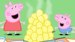 Peppa Pig Full Episodes | The Traffic Jam  | Cartoons for Children